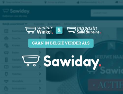 Sanitairwinkel België gaat verder als Sawiday
